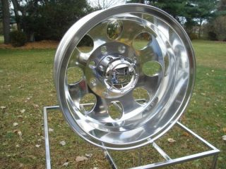 16 FORD  E  SERIES AND GMC CHEVY G MOTORHOME DUALLY POLISHED WHEELS