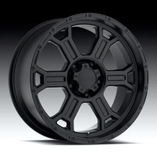 Matte Black V Tec Raptor Wheels Rims 6 Lug Ford F150 Expedition