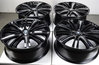17 5x120 Wheels Black BMW 318 325 330 Z3 Z4 Alloy CTS 328 TL RL Acura