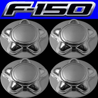 4pc Set Ford F 150 16 Alloy Steel Wheel Rim Chrome Center Cap 7 8