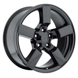 20 Ford F150 Lightning Tires Wheels Rims Package Gloss Black Set 97