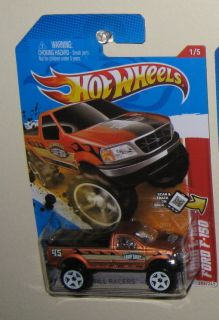 Hot Wheels Ford F150 4x4 Pickup Truck ★ 2012 Thrill Racers Beach
