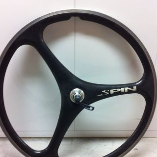 Spin Carbon Fiber 26 MTB Fromt Wheel Vintage Retro Classic