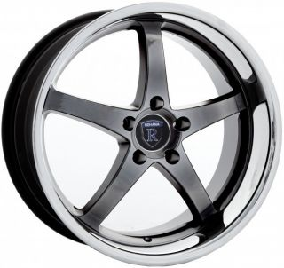 ROHANA RL05 STAGGERED WHEELS 5X114.3 RIM FITS LEXUS SC430 2002 2008