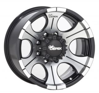 17x9 Dick Cepek DC 2 Black Wheel 8x6 5 17 8 Lug 3 4 1 Ton Dodge GM