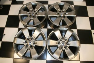 20 Painted Charcoal Factory Wheels Rims 3833 Set of 4
