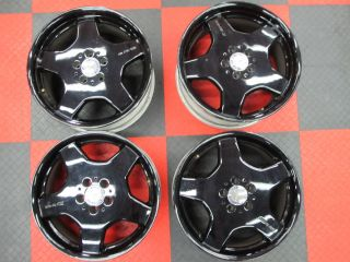 Black Monoblock Mercedes CL Class AMG Wheels 18 CL550 S55 S65 CL600
