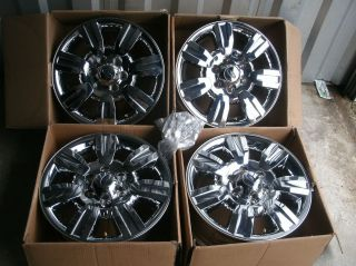 New 2012 Ford F150 Chrome 18 Wheels Rims FX4 Factory Expedition