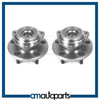 99 04 Jeep Grand Cherokee Front Wheel Hub Bearing Assembly Pair Set