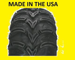 Two 2 25x12 9 American Made ITP Mud Lite ATV Tires New Made in USA