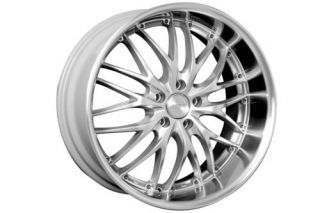 18 MRR Silver GT1 Rims Wheels Honda S2000 S2K Staggered