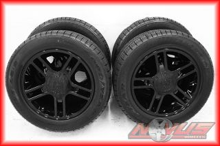 FORD F150 HARLEY DAVIDSON BLACK WHEELS RIMS GOODYEAR TIRES 18 17 22 03