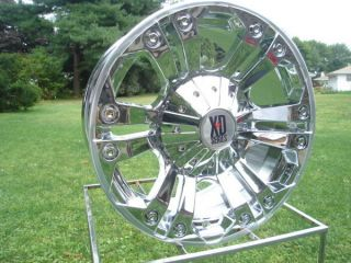 778 Monster Chrome 18x9 Chevy Ford Dodge Wheels XD778