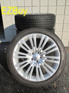 CHRYSLER 300 2011 2012 FACTORY ORIGINAL WHEELS 2420 FIRESTONE TIRES