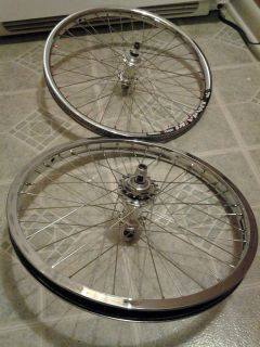 Elite BMX Racing 20 Wheel Set TI Driver Alienation Rims