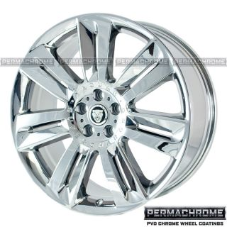Jaguar XF Nevis 20 Chrome Wheels Rims Permachrome Exchange