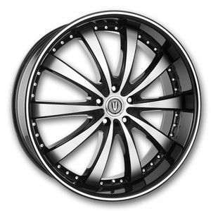 Versante 219 Black 20 Wheel Tire Package