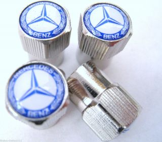 Mercedes Benz Valve Caps Tires Rims Wheels C300 C350 E350 E SLK 350 ml