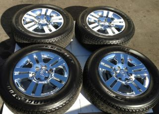 Toyota TRD Tacoma Chrome Clad Wheels Rims Tires 4Runner Tundra
