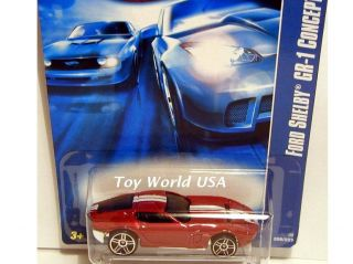 06 Hot Wheels Mainline Car 206 Ford Shelby GR 1 Concep
