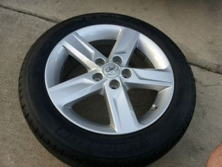 Toyota Camry SE 17 Alloy Wheel Rim Tire 215 55 17 2011 TPMS