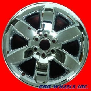 DENALI YUKON 20X8 5 CHROME FACTORY ORIGINAL WHEEL RIM 5420 41581