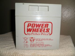 Fisher Price Power Wheels 12V Battery