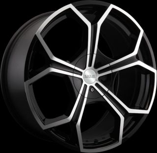 20 Inch Black Art Tux Wheels Rims Ford Mustang Taurus Edge Explorer