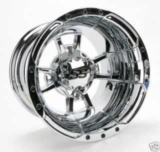 ITP 10 x 8 SS112 Chrome Sport Quad ATV Rim Wheel New