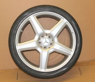 CL63 CL65 S550 S63 S65 AMG 5 Spoke Rim Wheel 255 35ZR20 Tire