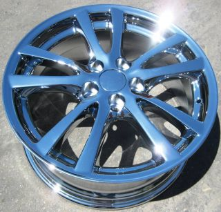YOUR STOCK OEM 4 NEW 18 FACTORY LEXUS IS250 IS350 CHROME WHEELS RIMS