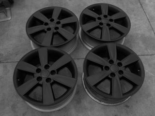 Camry Sienna Lexus ES300 ES330 IS300 Wheels Rims Black 74182