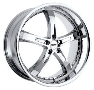 17x8 TSW Jarama Chrome Wheel Rim s 5x114 3 5 114 3 5x4 5 17 8