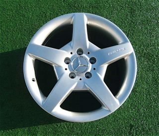 Perfect AMG Mercedes Benz CLK550 SLK350 SLK280 17 8 5 inch Rear Wheel