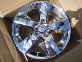 Lexus Is 250 350 Convertible 18 Chrome Wheel Rims with Cap 2011 2012