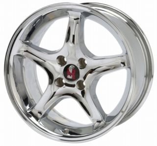 Ford Racing 1979 1993 Mustang Cobra R Chrome Wheel M 1007 R54C