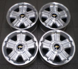 CHEVROLET GM TAHOE SUBURBAN AVALANCHE LTZ 18 FACTORY OEM WHEELS RIMS
