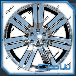 Chrome Plated 24 inch Chevrolet Wheels GMC Cadillac Rims