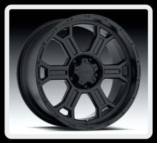 372 Raptor 17 inch Matte Black 5x5 5 Dodge RAM 1500 Wheels Rims