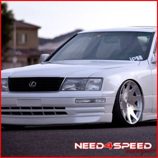 Lexus LS430 MRR HR3 VIP Concave Silver Staggered Rims Wheels