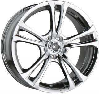 17 Ace Manta Chrome Wheels Rims Audi A4 VW Passat CC Mercedes C E