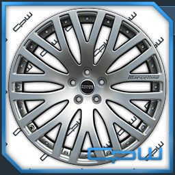 22 Range Rover Sport Rims Wheels Fitment MAR520 New Design Silver