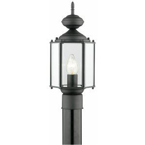 Thomas Lighting THO SL90467 Brentwood Lantern post Black 1x150W 120