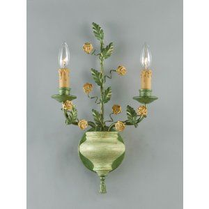 Crystorama Lighting CRY 5832 Floral Wall Sconce