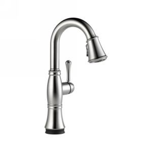 Delta Faucet 9997T AR DST Cassidy Single Handle Pull Down Bar/Prep Faucet with T