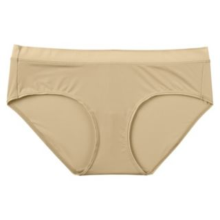 JKY By Jockey Womens Nylon Stretch Hipster   Toasted Beige 6