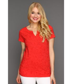 Lucky Brand Catalina Tee Womens T Shirt (Red)