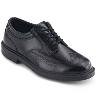 Deer Stags Tribune Mens Oxfords, Black