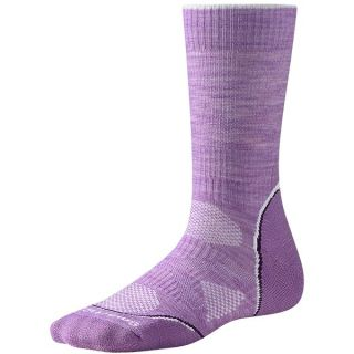 SmartWool PhD Outdoor Light Socks   Merino Wool  Crew (For Women)   LILAC (M )
