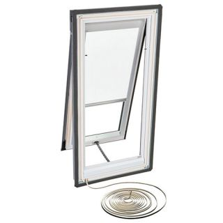 Velux RMH C01 1028 Skylight Blind, Electric Powered Light Filtering for Velux VSE C01 Models White